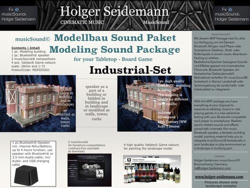Modellbau Sound Paket Industrial Set