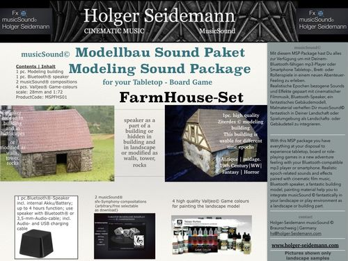 Modellbau Sound Paket Farm House Set