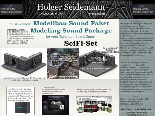 Modellbau Sound Paket SciFi Set